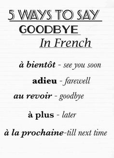 Good Bye Quotes